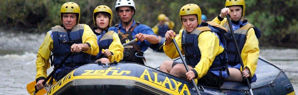 Rafting Alaya Brotas