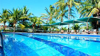 Lazer, monitoria, parque aquático, restaurantes, animais da fazenda e muito conforto, tudo isso ao lado da cidade no Brotas Eco Resort.