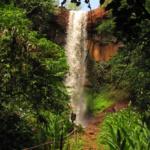 Cachoeira Três Quedas em Brotas