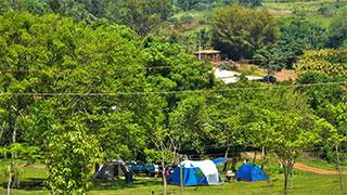 Camping Cachoeira 3 Quedas em Brotas
