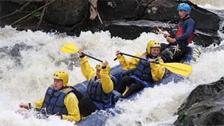 Kayak Rafting em Brotas