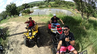 Quadriciclo com visita à Cachoeira Santa Eulália