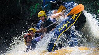 Rafting com Tirolesa e os Tetracampeões Mundiais