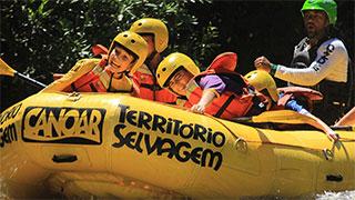 Rafting Território Selvagem Canoar